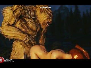 Skyrim Dragon Tart Like Troll 2 (rus) Mischievous Machinima 1