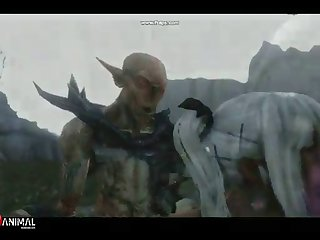 Skyrim Dragon Superslut Like Monster 2 Insane Machinima 1