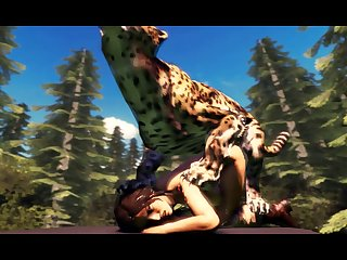 Lara Vs Jaguar 2 Total