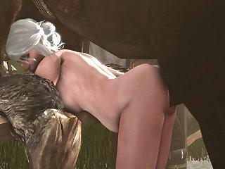 Ciri Leaned Over (blueberg)[horse] (gfycat.com)