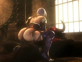 Ivy Valentine Railing A Tauren (noname55)[monster] (gfycat.com)