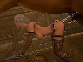 Ciri Getting Rode (darktronicksfm)[horse] (gfycat.com)