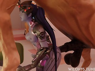Futa Widowmaker Getting Rode By A Pony (wiloh95)[horse] (gfycat.com)