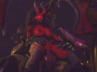 Kerrigan X Anubis (jujala)[dog Wolf] (gfycat.com)