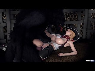Tina And The Gigantic Bad Cub (nodetek)[dog Wolf] (gfycat.com)
