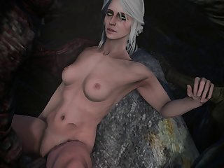 Ciri With A Duo Of Monsters, Pop-shot Photo In Comments. [witcher] (weebstank)[monster] (gfycat.com)