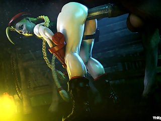 Cammy Milky Wanking A Pony [street Fighter](the Firebrand)[horse] (gfycat.com)