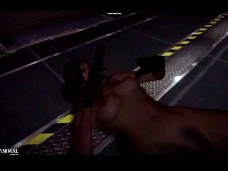 Resident Evil 6 Ada Wong Bare Ryona (lepotitsa)1 Nasty Machinima 1