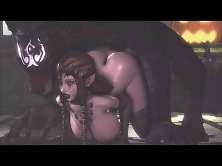 Zelda Getting Banged From Behind By Otter Attach (jujala)[dog Wolf] (gfycat.com)