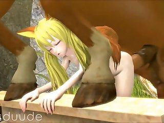 Compilation Of Three dimensional Animated Zoophilia (part 6)