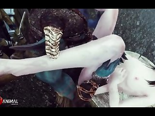 Beautiful Doll Porked By Lil' Monsters Wild Machinima 2