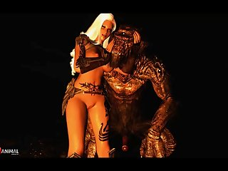 Skyrim Monster Enjoy Super-naughty Machinima 2