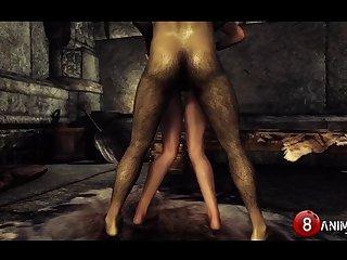 Inappropriate Skyrim Shenanigans 6 Kinky Machinima 1