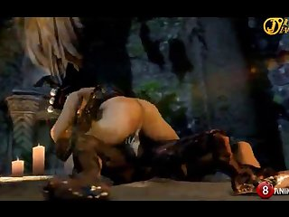 Nyotengu Smooch Of Death (re Upload) Horny Machinima 1